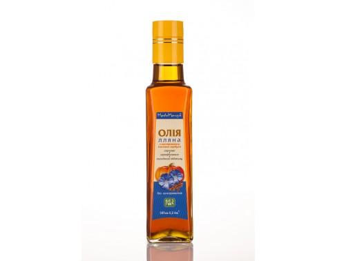 Льняное c экстрактом тыквенных семечек масло 0,2дм3